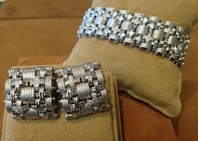 custom bracelets on display