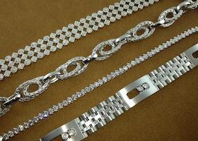 bracelets on display
